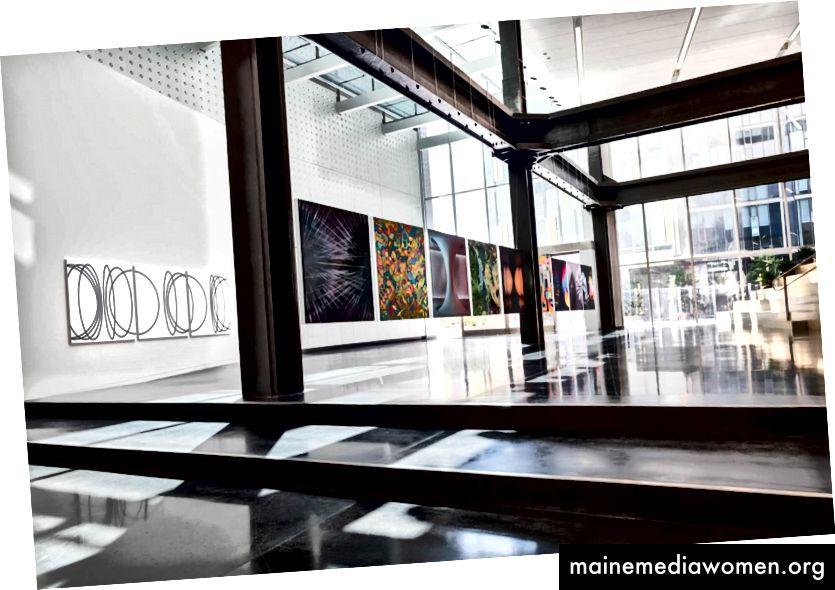 Kunstwerke im Dolby-Hauptquartier in San Francisco ausgestellt (Foto: Mucho)