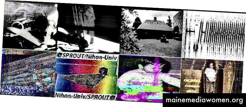 Beispiele für per SSTV übertragene Bilder