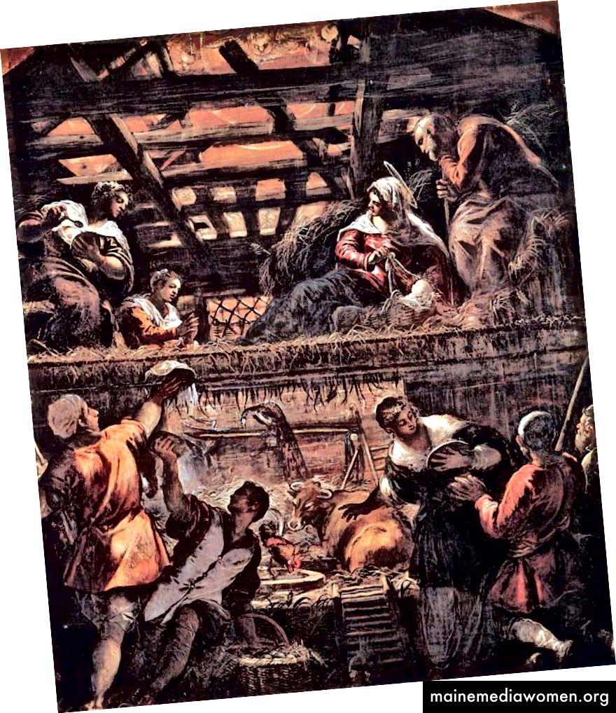 Tintoretto Jenius Terakhir Renaissance Italia September
