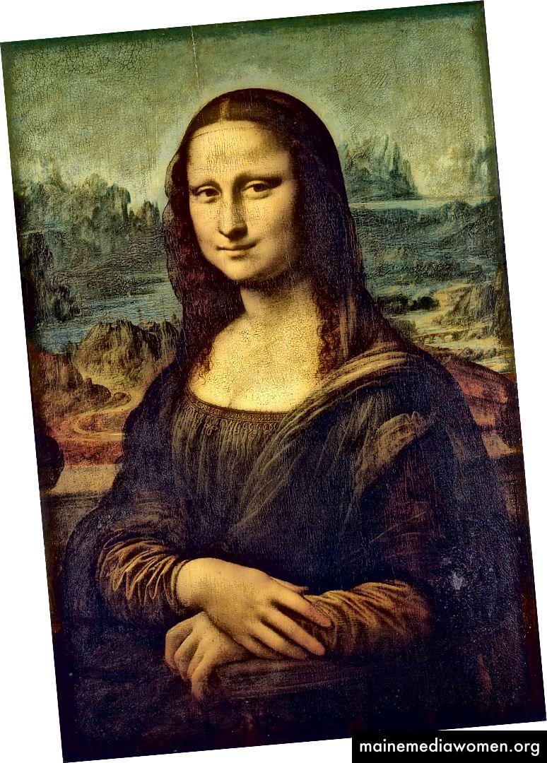 ليوناردو دافنشي الموناليزا