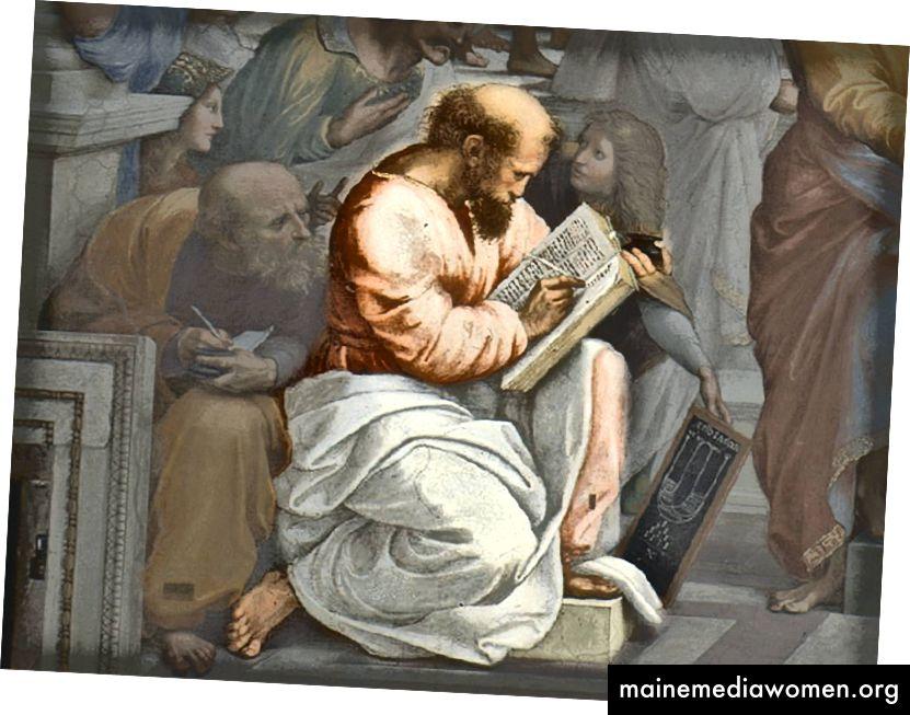 فيثاغورس ، مؤسس نظام ديني مثير للاهتمام