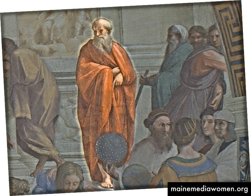 الجمع بين Plotinus وتعلمه الهندي مع الأفكار الأفلاطونية الجديدة