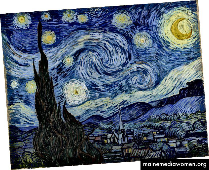 Vincent van Gogh [gemeinfrei], über Wikimedia Commons