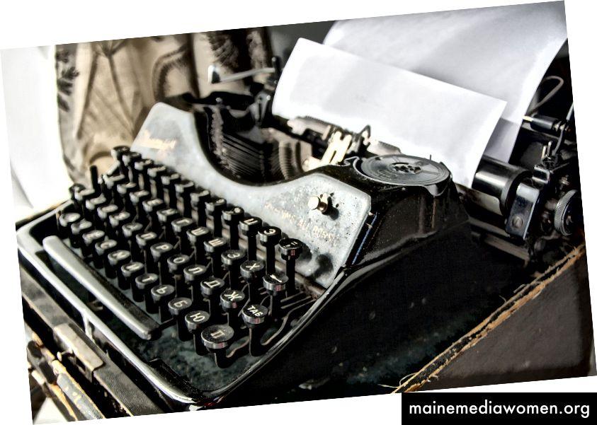 Не поставяйте процеса на писане на пиедестал