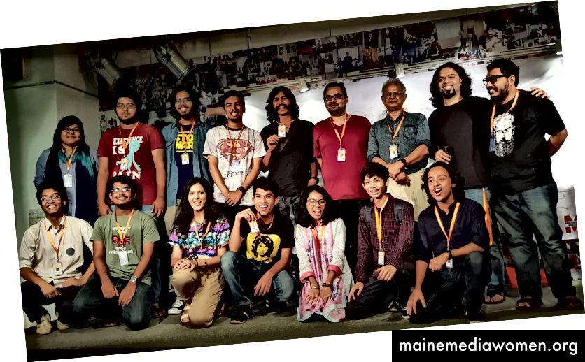 Изпълнителният комитет и съветниците на Cartoon People