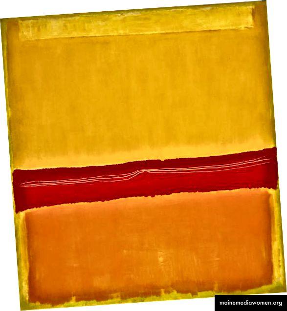 '№5 / №22' von Mark Rothko, 1949-50. Foto über Museum of Modern Art / WikiArt