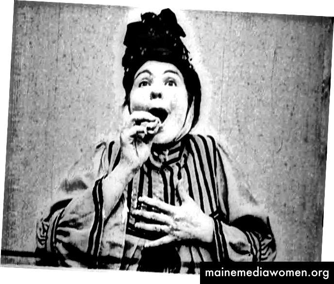 """""""Alice Guy Blaché, Frau des Neids (1906, Gaumont). Mit freundlicher Genehmigung des Gaumont Pathé Archives, Paris """"über das Whitney Museum of American Art"""