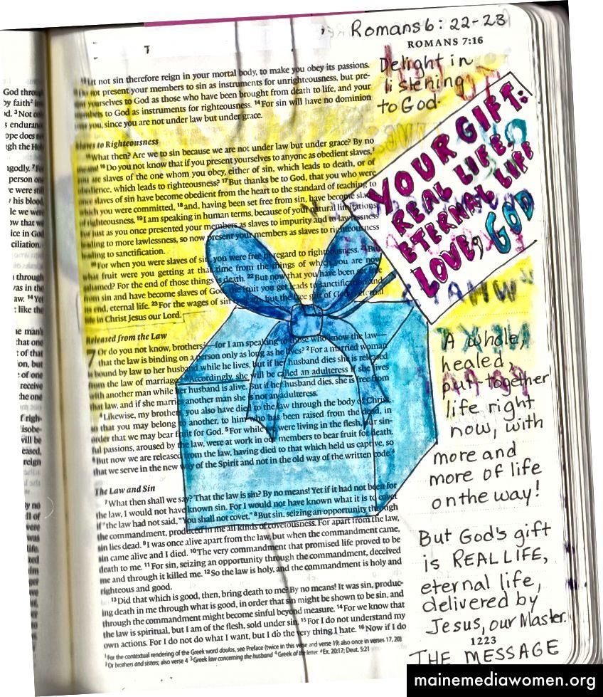 Umění Bible od Janise Coxe. Další informace.