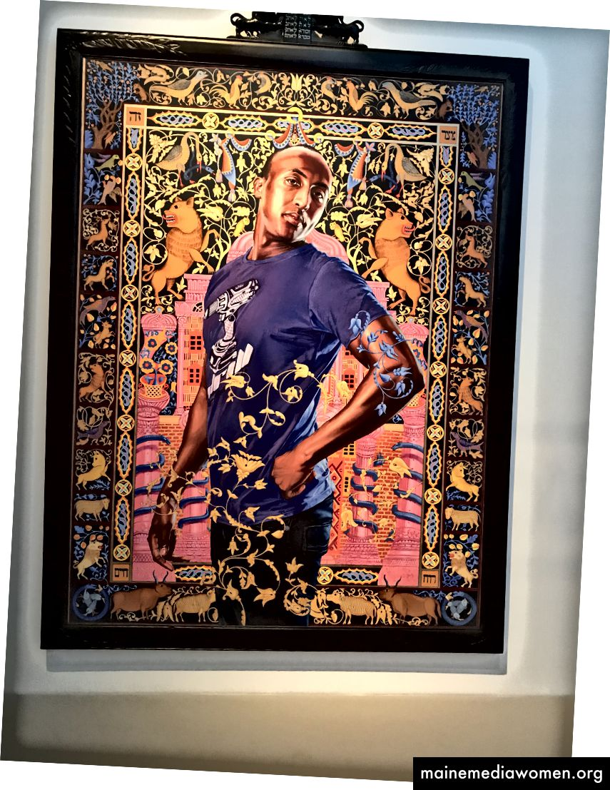 Alios Itzhak, aus der Serie The World Stage: Israel. Kehinde Wiley. 2011.