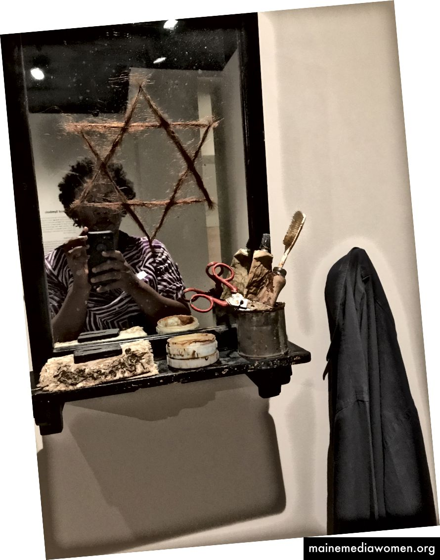 خزانة صغيرة مع قميص. فابيو موري. 1971. المتحف اليهودي.