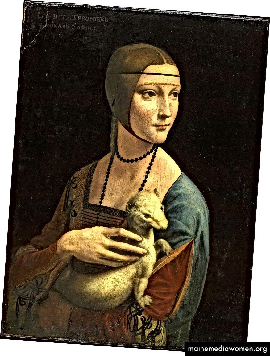 Dame mit einem Hermelin (1489–1490) von Leonardo da Vinci