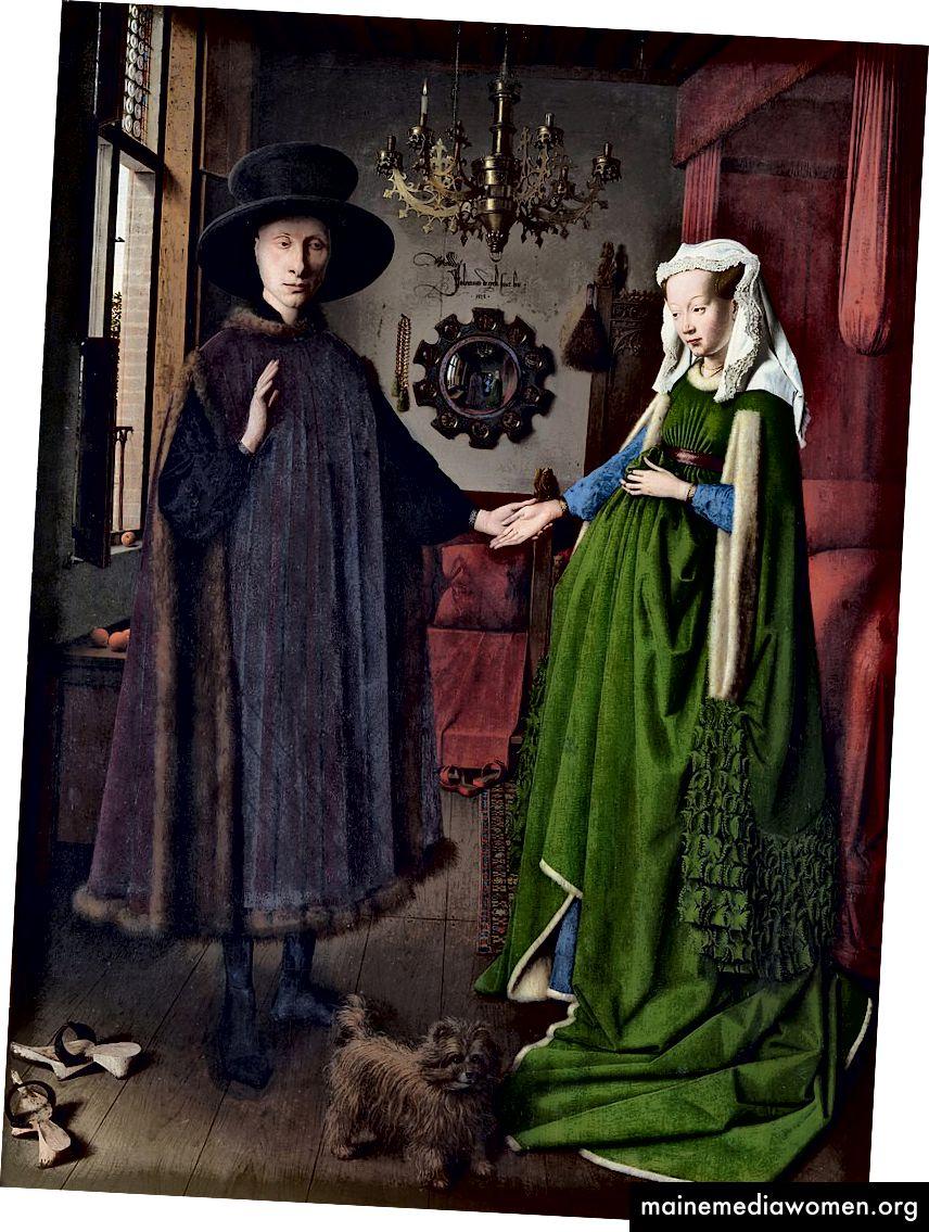 Портрет на Арнолфини (1434) от Ян ван Ейк