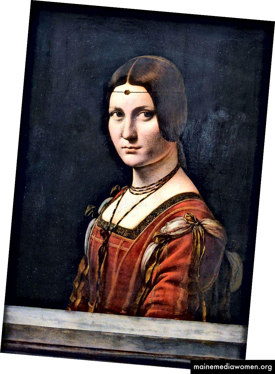 La belle ferronnière (1490–1496) от Леонардо да Винчи
