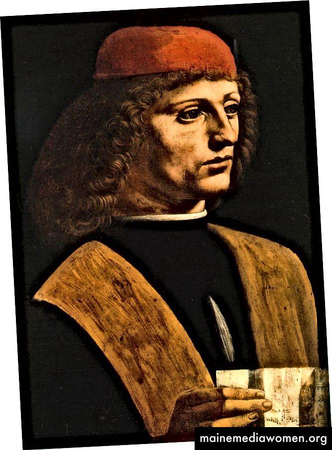 Портрет на музикант (1485 г.) от Леонардо да Винчи