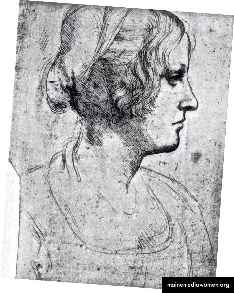Zeichnung von Cecelia Gallerani von Leonardo da Vinci