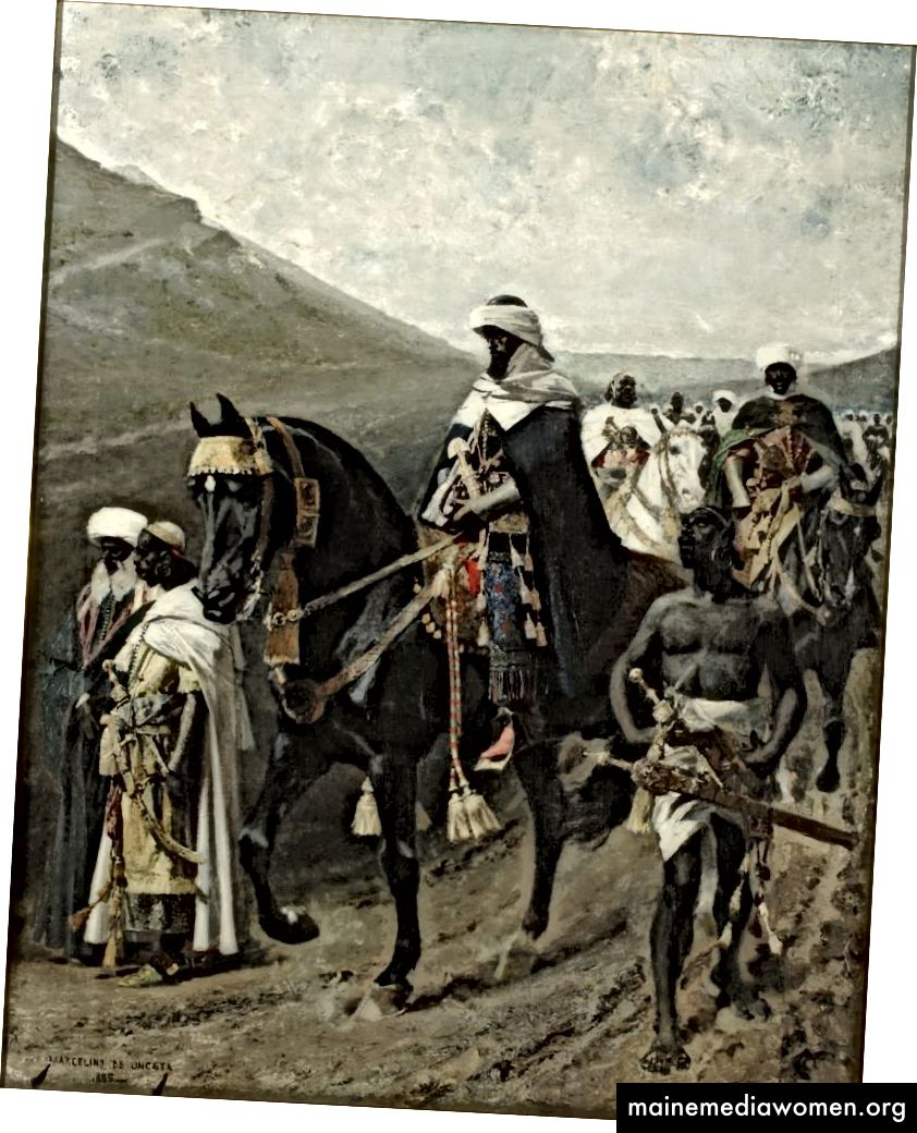 'El suspiro del moro' (Der Seufzer des Moors) von Marcelino de Unceta, 1885. Museum von Saragossa, Saragossa (Aragonien), Spanien.