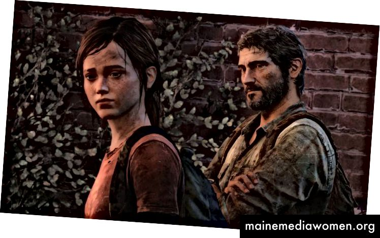 لقطة شاشة من The Last Of Us