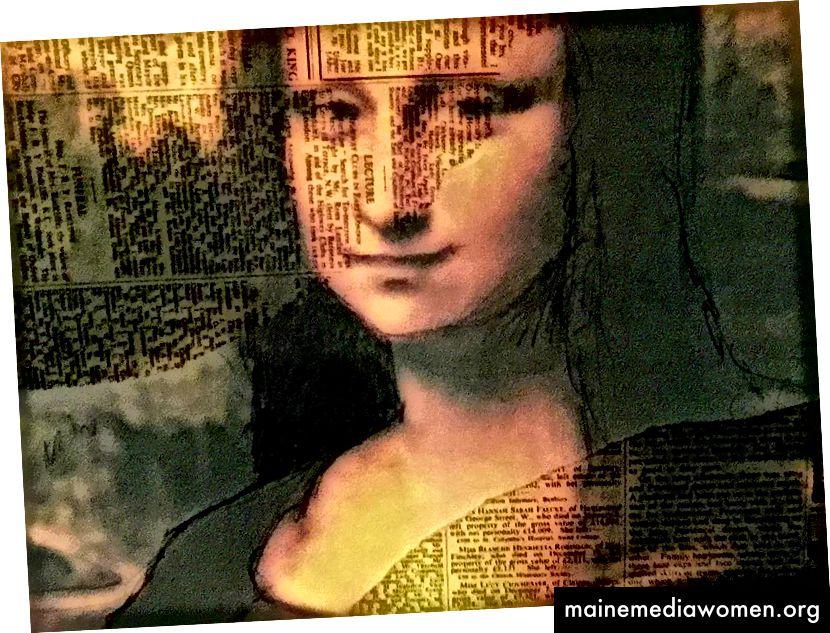 Mona Lisa Enigmatica ، بقلم ennyman ، 2018