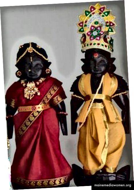 Раджа Рани Кукли от Тирупати