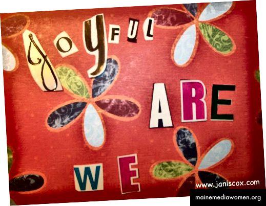 Просто радостен колаж от Джанис Кокс
