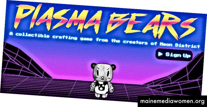 Plasma Bears Website