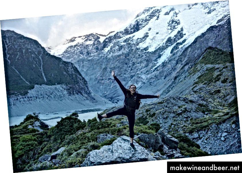 Trekking ກັບເພື່ອນທີ່ດີທີ່ສຸດຂອງຂ້ອຍ (Creds Photo) ໃນປະເທດນິວຊີແລນທີ່ສວຍງາມ.