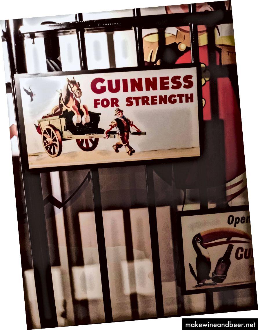Guinness ໃຫ້ຄວາມເຂັ້ມແຂງແກ່ຂ້ອຍ.