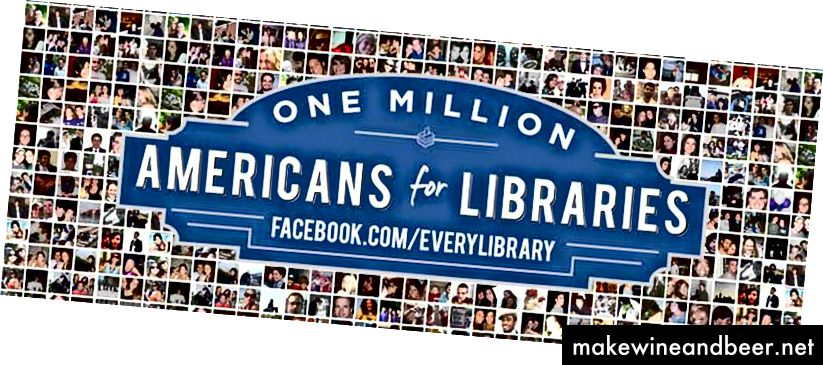 EveryLibrary ແມ່ນຄະນະ ກຳ ມະການປະຕິບັດງານດ້ານການເມືອງແຫ່ງຊາດ ທຳ ອິດ ສຳ ລັບຫໍສະມຸດ. ຖ້າທ່ານຄິດວ່າຫ້ອງສະ ໝຸດ ຄວນມີໃຫ້ ສຳ ລັບທຸກໆການຄົ້ນພົບ, ຈົ່ງກ້າວຕໍ່ໄປແລະອ່ານ ໜ້າ ເວັບທີ່ facebook.com/everylibrary.