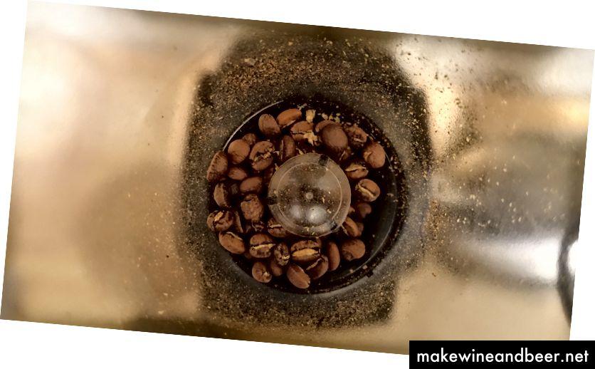 Kaffee in der Mühle