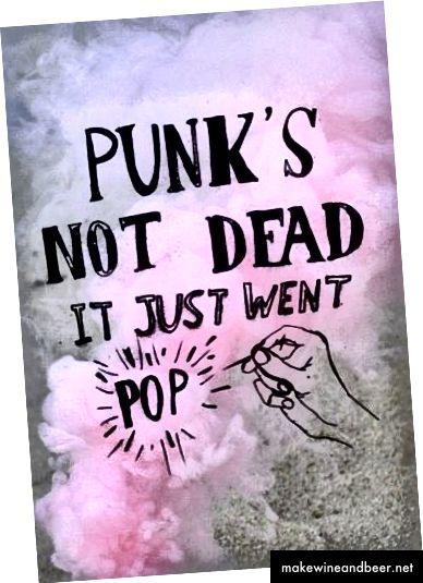 گزیده ای از Pop Punk Stim - ما خیلی دوست داشتیم صورتی پاستیل و نحوه کار با سیاه را دوست داشتیم