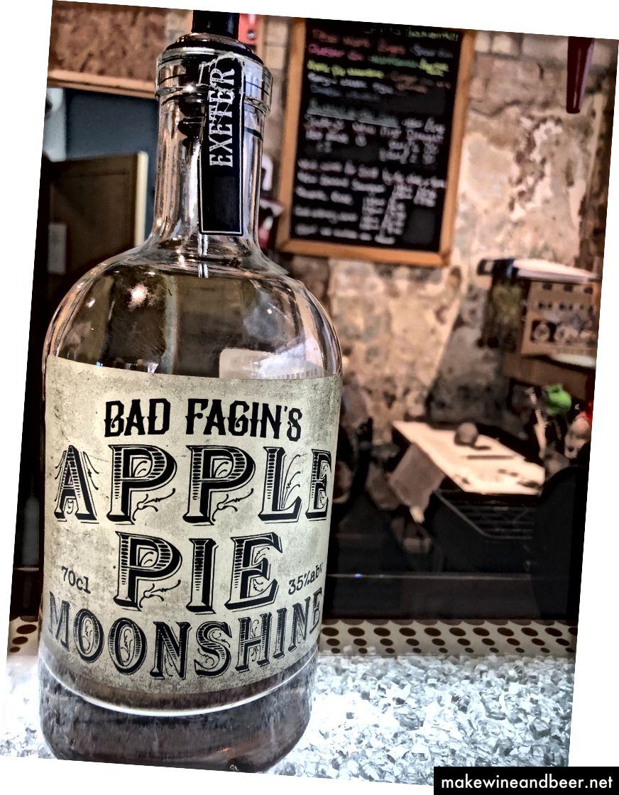 ແສງເດືອນ pie Apple