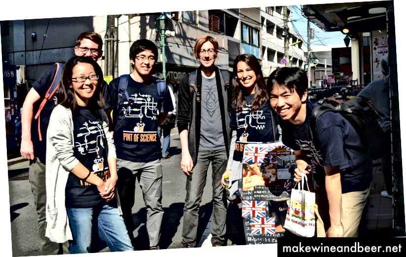 2017. gada komanda: (no kreisās uz labo) Callum Parr, Mao Fukadai, Ryuji Misawa, Diego Tavares Vasques, Viviane Casaroli, Takahisa Fukadai. Attēlu veidojusi Takahisa Fukadai