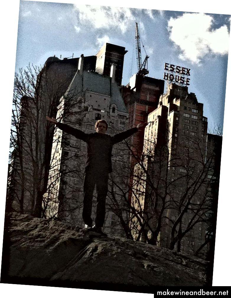 Үлкен тоғандағы кішкентай балықтар, Нью-Йорк, Нью-Йорк.