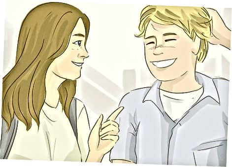 Flirta och spendera tid tillsammans