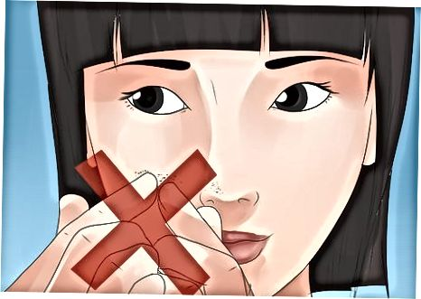 Poppar hudormar och undviker att förvärra din hud