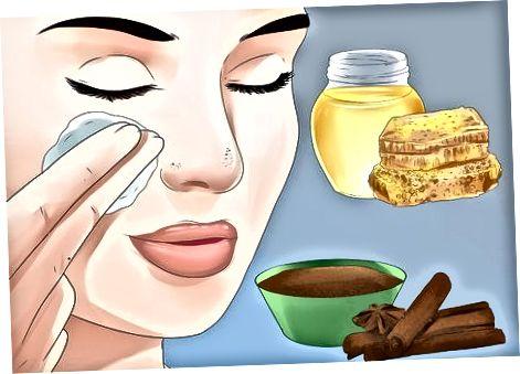 Rengöring för att ta bort hudormar