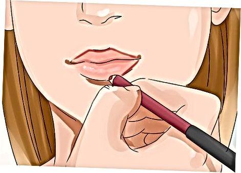 Lipstickingizni qo'llash