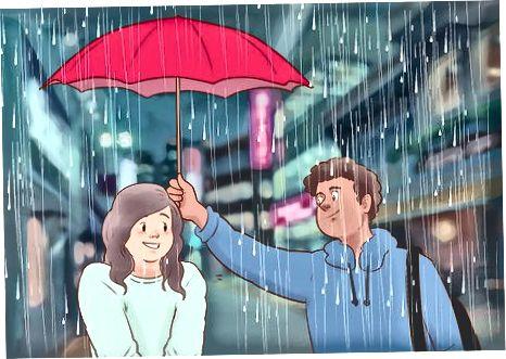 Uni romantik tarzda taassurot qilish