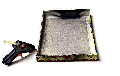 एक बॉक्स ढक्कन का उपयोग करना