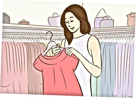 Mencari pakaian