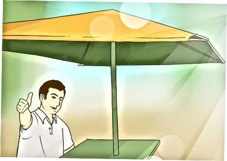 Utilitzant alternatives de protecció solar
