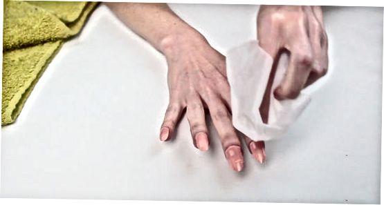 Tirnoqlaringizni asosiy tozalash