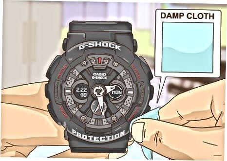 Casio G Shock Soatlaridan axloqsizlik va qoldiqlarni tozalash