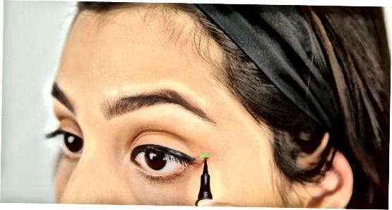 Eyelinerni qo'llash