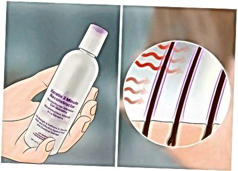 Tratamiento del cabello químicamente quemado en casa