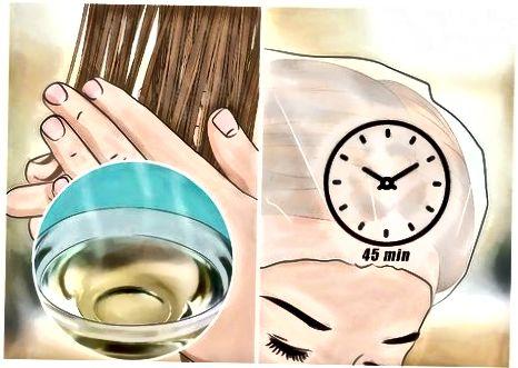ქიმიკურად დამწვარი თმის სამკურნალო საშუალებების გამოყენებით