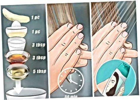 Uso de remedios de bricolaje para tratar el cabello químicamente quemado