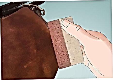 Zamonaviy teridan ishlangan koshin sumkasini tozalash vositasidan tozalash
