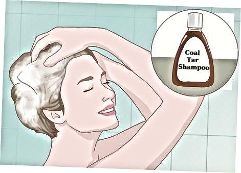 Menggunakan Coal Tar Shampoo