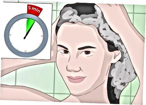 Sử dụng dầu gội axit salicylic